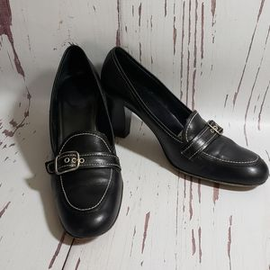 Coach   Kathrine black  pump heels 8B